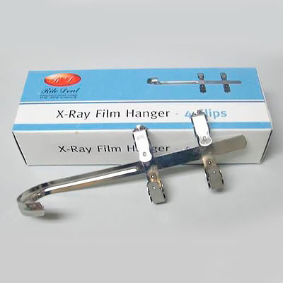 Stainless Steel X-Ray Film Hanger - 4 Clips