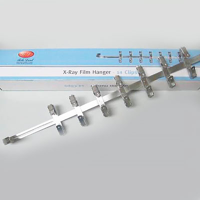 Stainless Steel X-Ray Film Hanger - 14 Clips
