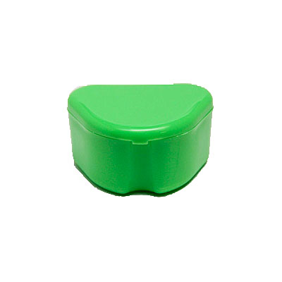 Denture Retainer Box 12 Pack Green